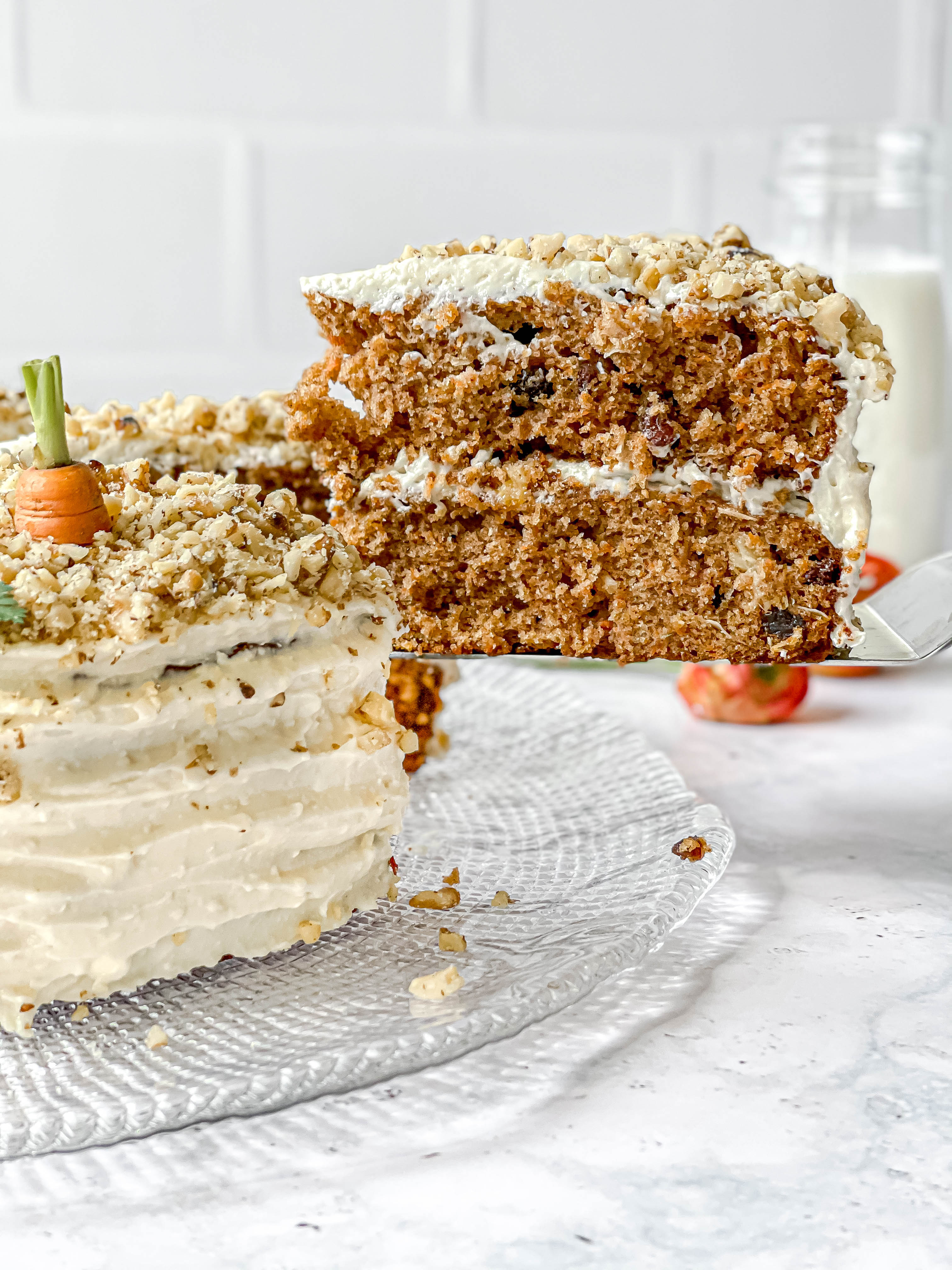 My Very Best Carrot Cake with Cream Cheese Frosting