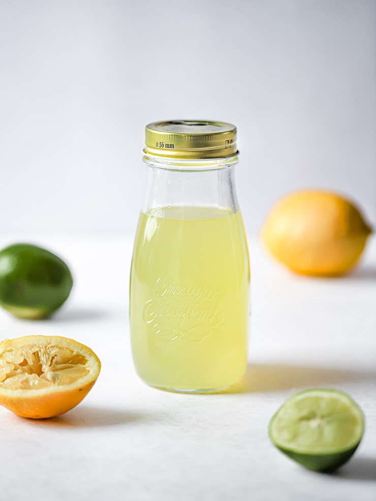 Homemade Sour Mix for Delicious Cocktails and Mocktails